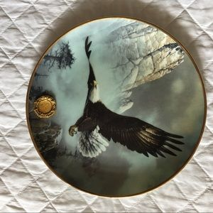 SAVE THE EAGLE Ted Blaylock Liberty's Mint Plate